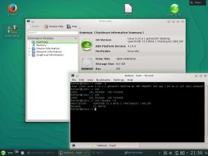 openSUSE 13.2 Beta1 - Informazioni di sistema da Konsole e KSysInfo